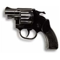 Edison Giocattoli - 012502 - Accessoire - DÉGUISEMENT - Revolver Cobra 8 Coups - 11,5 Cm