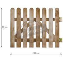 portillon 90 cm largeur achat portillon 90 cm largeur pas cher soldes rueducommerce. Black Bedroom Furniture Sets. Home Design Ideas