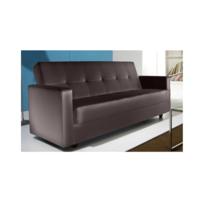 Concept Usine - Canape Osiris Convertible + Coffre De Rangement 3 places - Simili- Canapé convertible Simili
