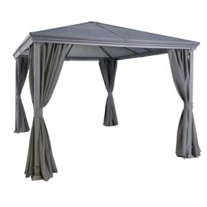 carrefour tonnelle aledo l 329 x l 269 x h 267 cm gris pas cher achat vente tentes de. Black Bedroom Furniture Sets. Home Design Ideas