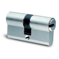 IFAM FRANCE - Cylindre euro profil F6S + prédécoupe nickelé 30/40 débrayable - 5 clés - IFAM - 3100D