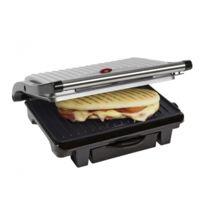 Bestron - Grill à panini et viandes - Avec récupérateur de graisse intégré