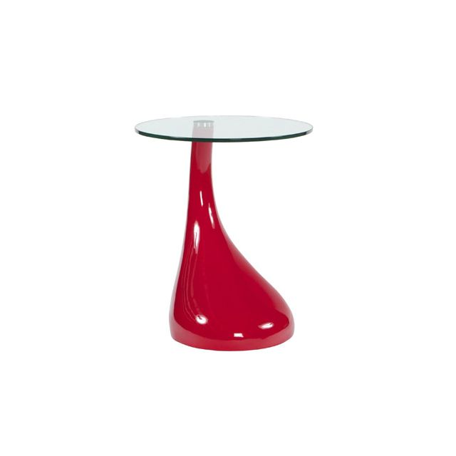 Table basse design 45x45x54cm Teo - red