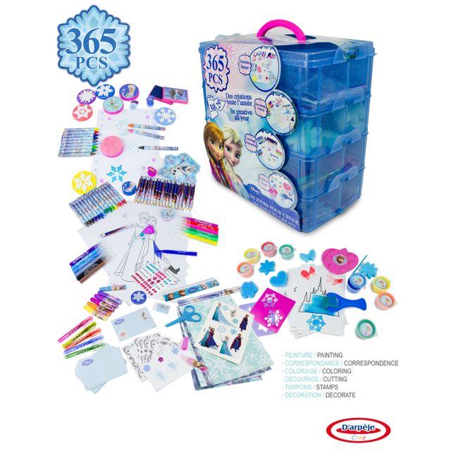 LA REINE DES NEIGES Boîte de coloriage 365 jours pour créer - FROZEN-CFRO165