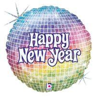 """Betallic - F86706-BALLON-NEW Year Disco """"- 18 Holographique"""