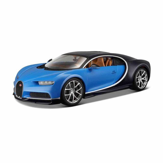 bburago mod le r duit bugatti chiron bleue echelle 1 18 pas cher achat vente voitures. Black Bedroom Furniture Sets. Home Design Ideas