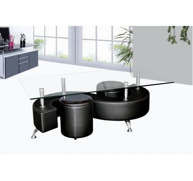 CHLOE DESIGN Table basse design Wendy - noir