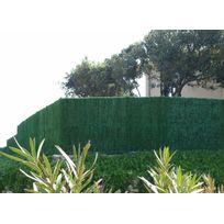Jet7GARDEN - Haie artificielle végétale 126 brins thuyas en rouleau -3 m-3 x 1,50 m