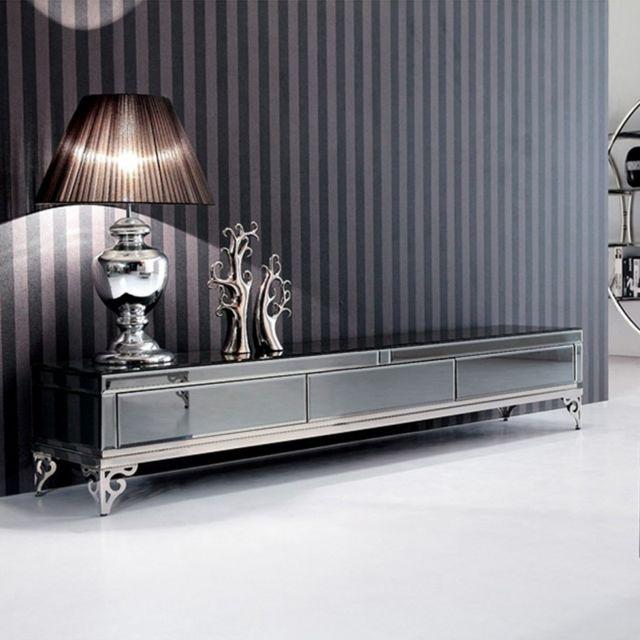 Meubler Design Meuble Tv ligne Elégante