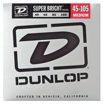Dunlop - Super Bright Nickel Plated Steel Médium 45-105 - Jeu cordes guitare basse
