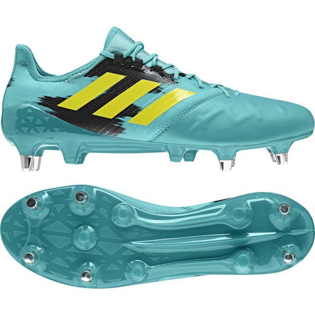 meet f4496 33346 Adidas - Chaussures Kakari Light Sg vert turquoise jaune flash noir - pas  cher Achat   Vente Chaussures rugby - RueDuCommerce