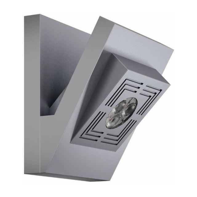 Osram Tresol Cube-applique Led Aluminium H12,3cm Argenté