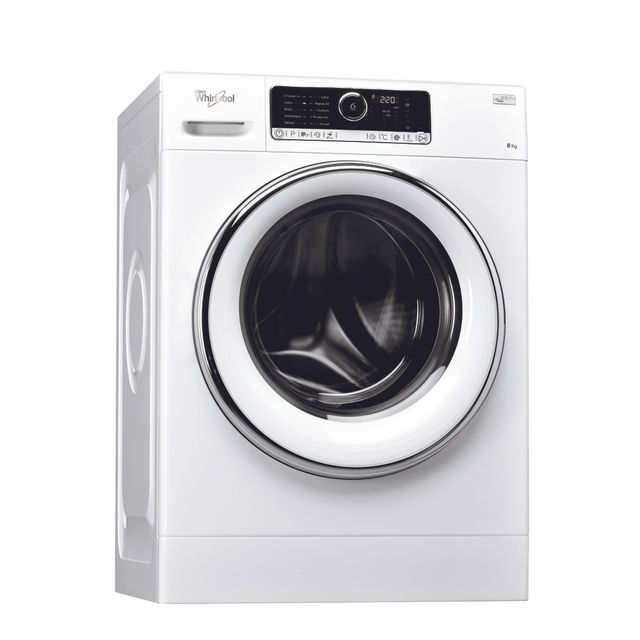 Whirlpool - Lave-linge - A+++ - 8 Kg - 1400 tours/min - Blanc