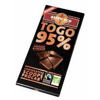 Alter Eco - Chocolat Noir Togo 95% Bio 90g
