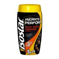 Isostar - Pot pour poudre Boisson isotonique Hydrate & Perform pour 7 litres saveur orange 560gr