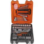 """Bahco - Mallette à outils 106 pièces avec douilles 1/4""""et 1/2"""" S106"""