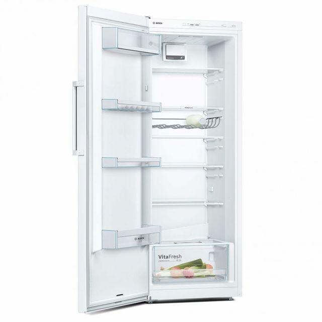 bosch r frigerateur frigo simple porte blanc 290l a. Black Bedroom Furniture Sets. Home Design Ideas