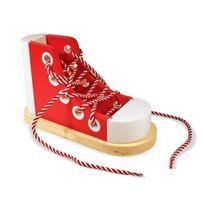 Melissa et Doug - 1 Loisir Créatif Wooden Lacing Shoe