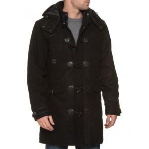 mzgz veste homme noire duffle coat tendance et fashion. Black Bedroom Furniture Sets. Home Design Ideas