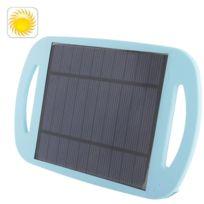 Wewoo - Chargeur solaire pour les téléphones mobiles / Mp3 / appareil photo numérique / Gps et autres appareils électroniques, Wn-801 Baby Blue 2.5W universel respectueux de l'environnement Sun Power Panel Pad avec support