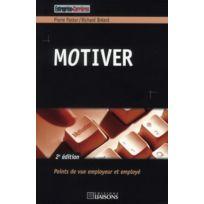Entreprise Et Carrieres - motiver 2e édition