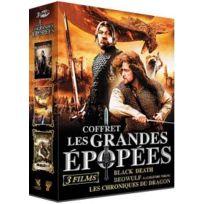 Seven7 Editions - Grandes épopées : Black Death + Beowulf - La légende viking + Les Chroniques du Dragon