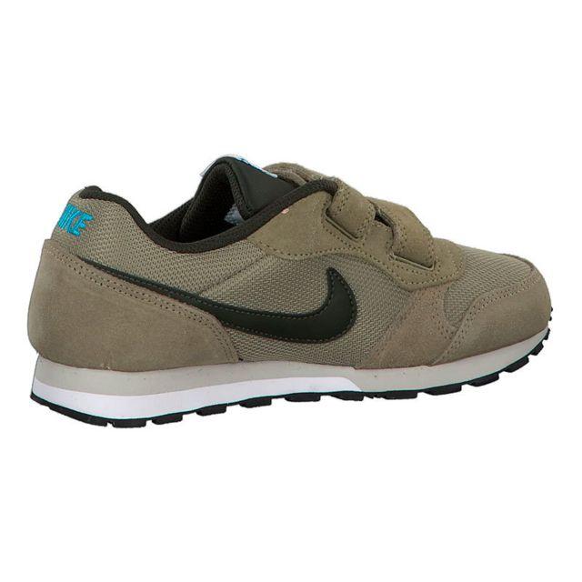 sports shoes 5608c 6c9e2 Nike - Chaussures Nike Md Runner 2 Ps marron vert enfant