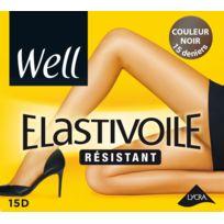 WELL - Collant Elastivoile résistant Noir