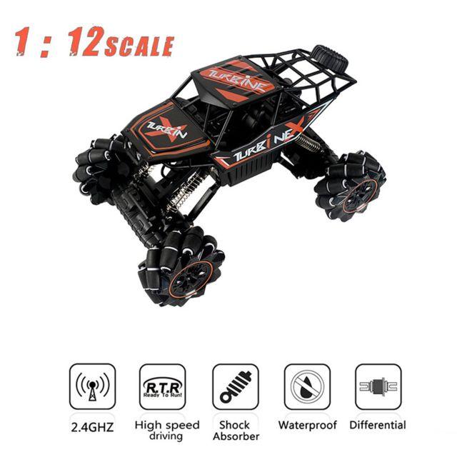 GÉNÉRIQUE 1:12 2.4G télécommande tout-terrain véhicule camion haute vitesse Rtr Buggy Rc voiture