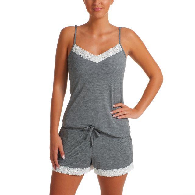 recherche de liquidation plus gros rabais nouvelle arrivee TEX - Ensemble pyjashort caraco + short - pas cher Achat ...