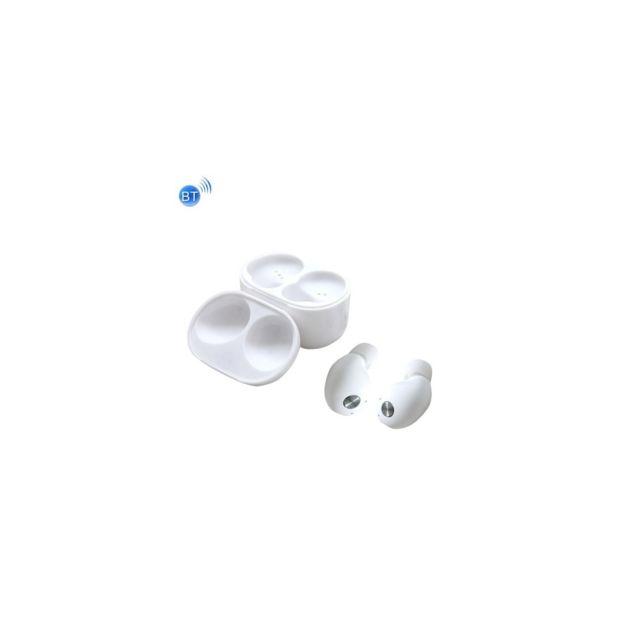 Auto-hightech - écouteur stéréo binaural sans fil Bluetooth universel, mini écouteur intra-auriculaires avec boite de chargement, pour iPhone, S