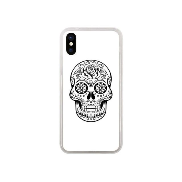 coque tete de mort iphone x