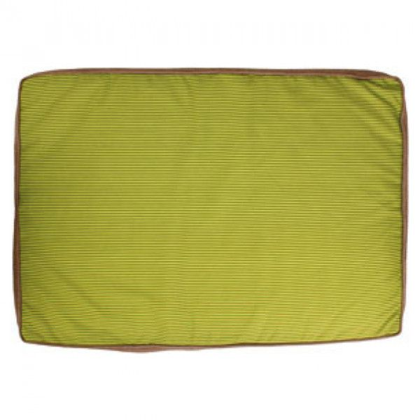 flamingo coussin rectangulaire spring taille 55 cm vert pas cher achat vente corbeille. Black Bedroom Furniture Sets. Home Design Ideas