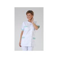 Label Blouse - Vêtement de travail médical et esthétique Modèle femme Julia Coloris : Vert