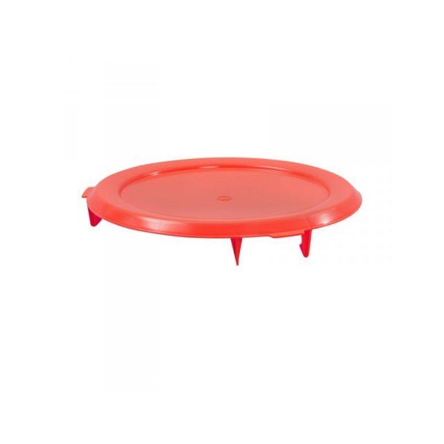 Gilac Couvercle Plat Rouge pour Conteneur 75 Litres