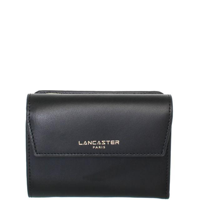 ae9637edf8 Lancaster - Portefeuille en cuir ref_lan41895-noir-13 10 3 - pas cher Achat  / Vente Portefeuilles - RueDuCommerce