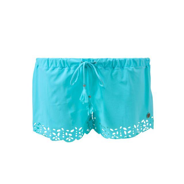 e68b835725 Banana Moon - Short de plage Ciel Huawei Meow Bleu - pas cher Achat / Vente  Short femme - RueDuCommerce