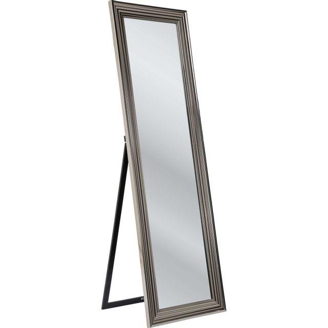Karedesign Miroir sur pied Frame argenté 180x55cm Kare Design