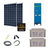 Myshop-solaire - Kit solaire 600w autonome 230v tout en un - easysolar