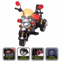 Cristom - Moto électrique pour enfant ,6 volts , mp3