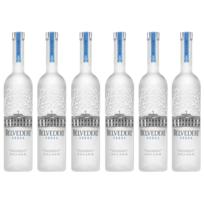 Belvedere - Lot de 6 Vodkas 70cl