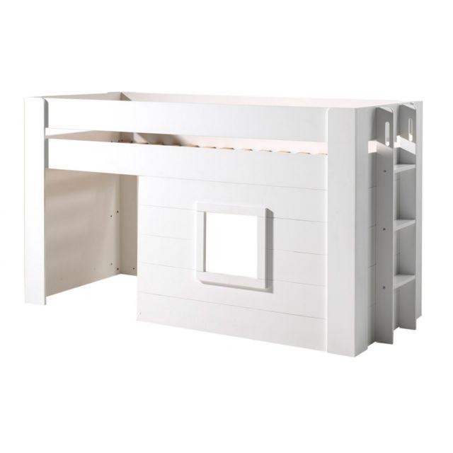 Nordic Factory Lit Modern Cabin 90x200