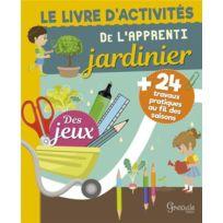 Grenouille - le livre d'activités de l'apprenti jardinier