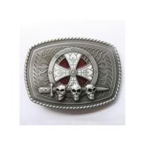 Universel - Boucle de ceinture croix celte crane epée tete de mort ... db85ac4d492