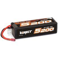 KONECT - Lipo 5200mah 11.1V 50C 3S1P 57.7Wh Big Pack Dean