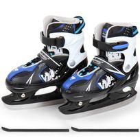 Physionics - Patins de hockey sur glace en bleu dans 2 tailles 34-37