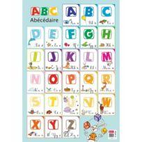 """Bouchut Grandremy - poster pedagogique en pvc 76x52cm """"l'alphabet"""