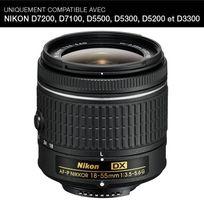 Nikon - Objectif Af-p Dx Nikkor 18-55 mm f/3.5-5.6G