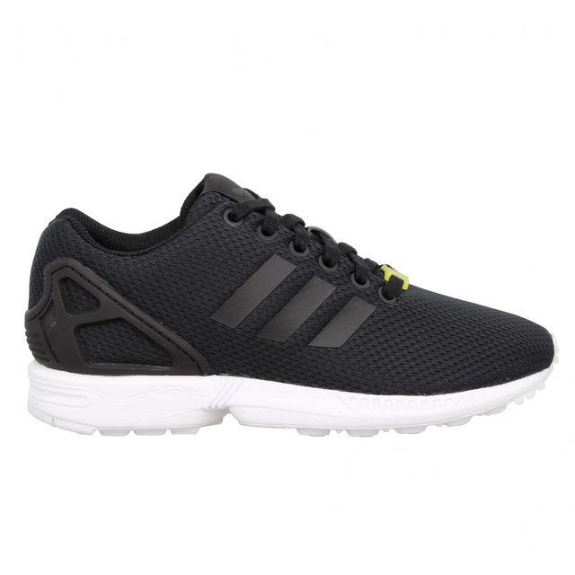 Adidas Zx Flux toile Femme 38 23 Noir pas cher Achat
