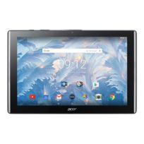 """ACER - Tablette : Android 7.0 Nougat 32 Go eMMC, 10.1"""" IPS 1920 x 1200 hôte USB, Logement microSD, noir"""